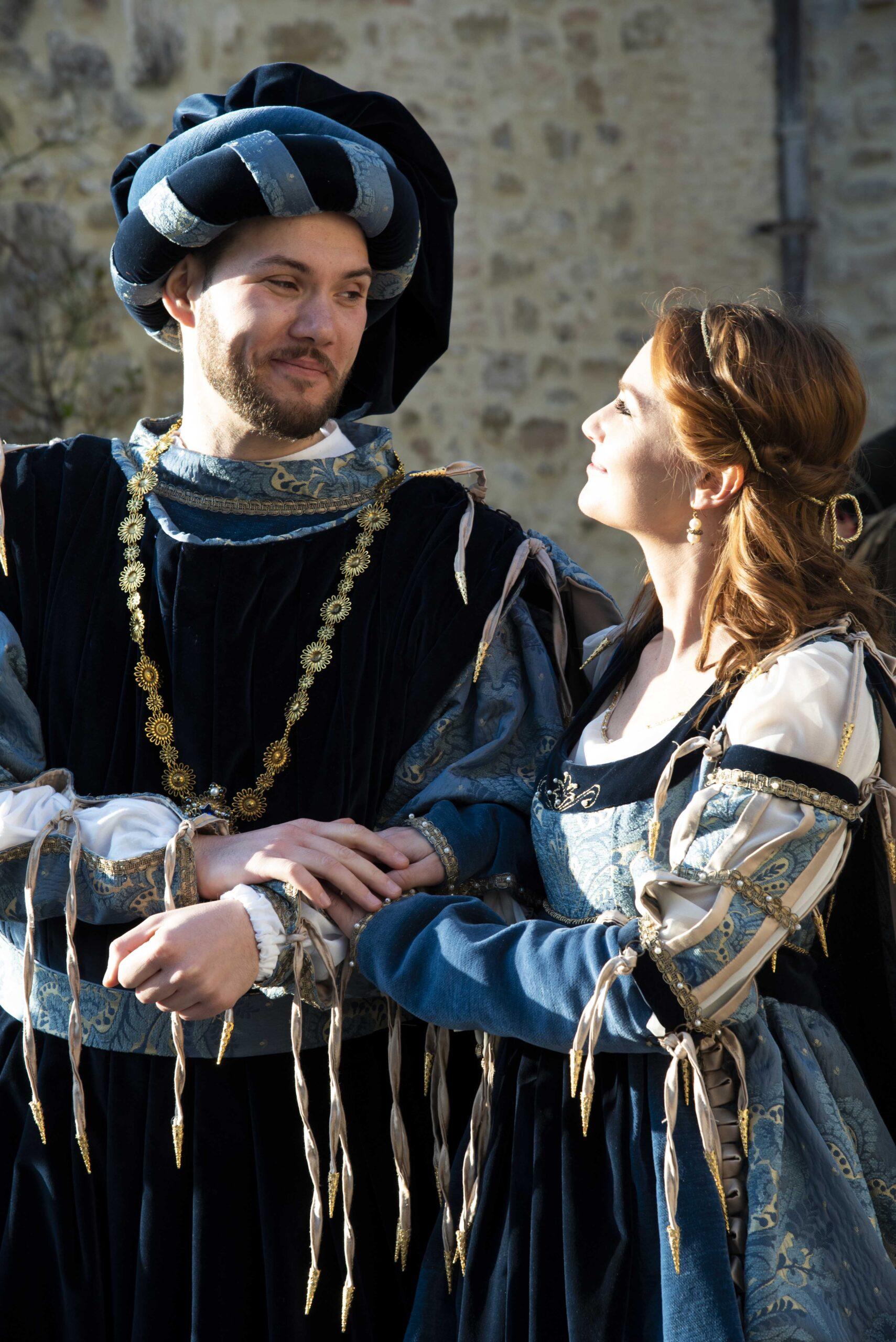A medieval wedding