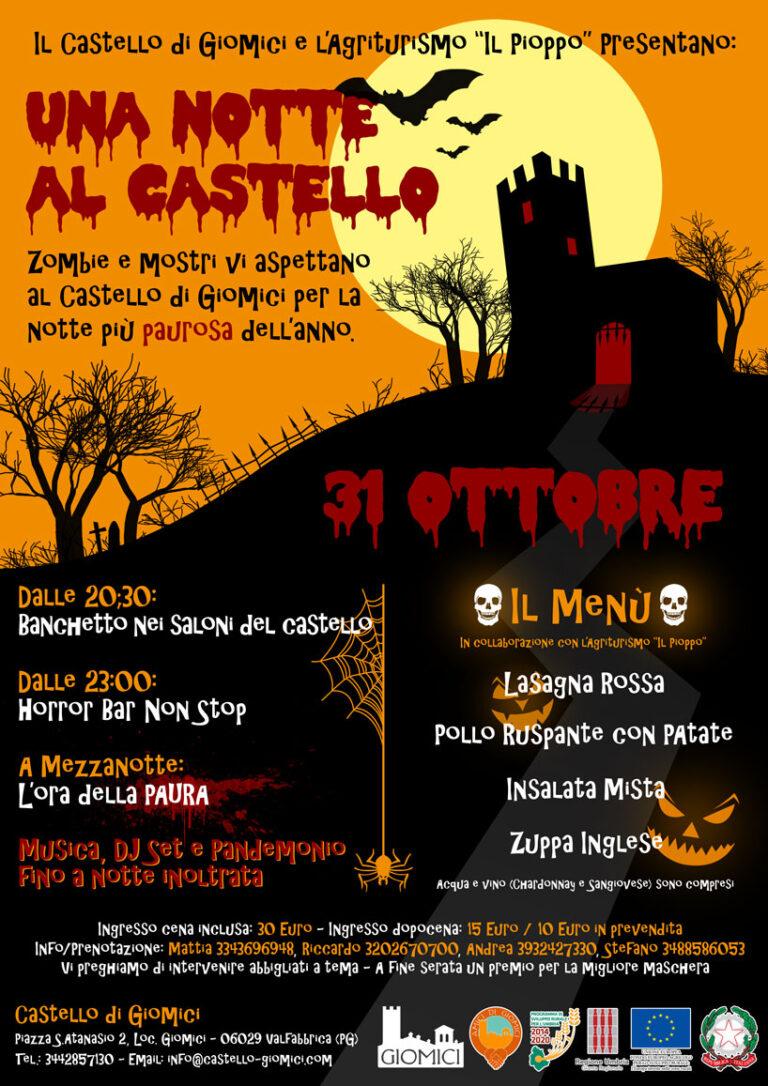 Halloween en el castillo